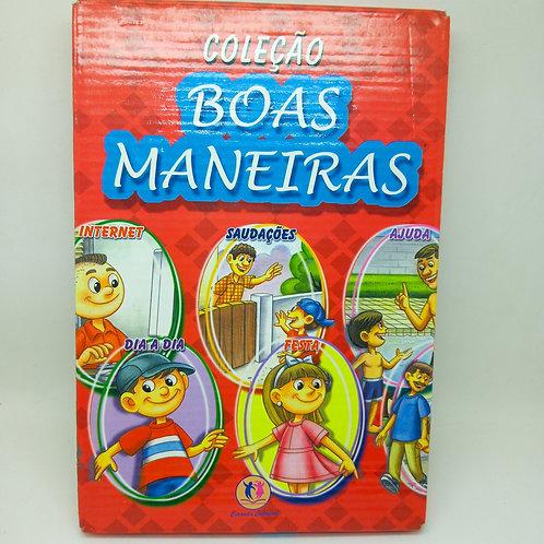 Livro Coleção Boas Maneiras Box Com 10 Livretos