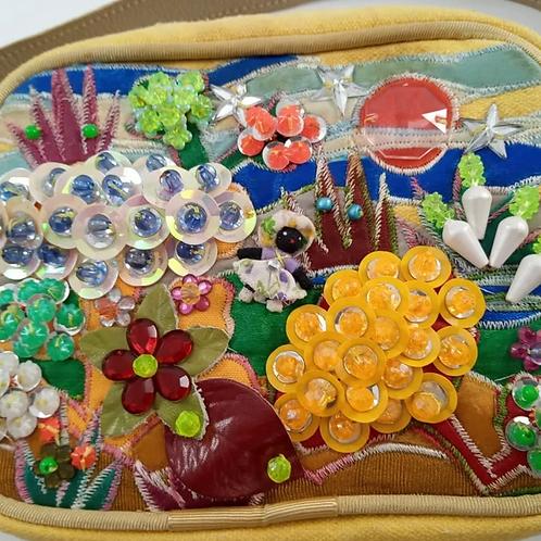 Bolsa Com Alça Decorada Pedra Style Sandra Fukelmann