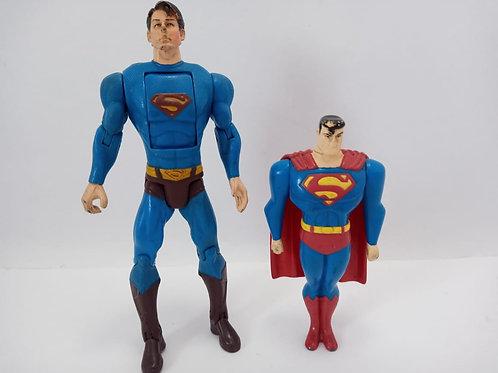 Bonecos Dois Super Man 1 Com Fricção