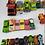 Thumbnail: Carrinhos Miniatura De Ferro E De Plástico 42 Pçs