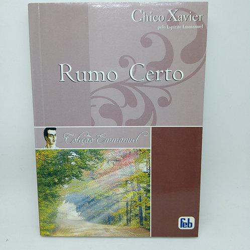 Livro Rumo Certo Chico Xavier Pelo Espírito Emmanuel USADO.