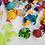 Thumbnail: Coleção Dino Rock Recreio C/ 42 Peças Miniatura