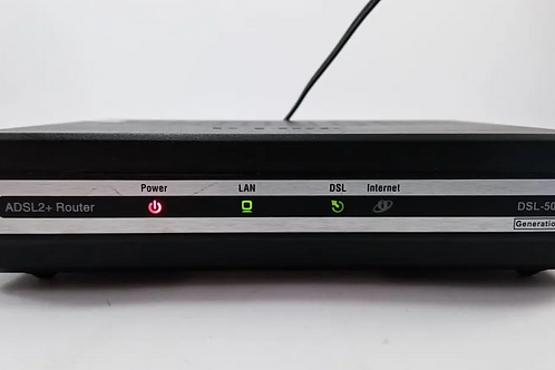 Modem Dsl 500b+router Adsl2 D-link