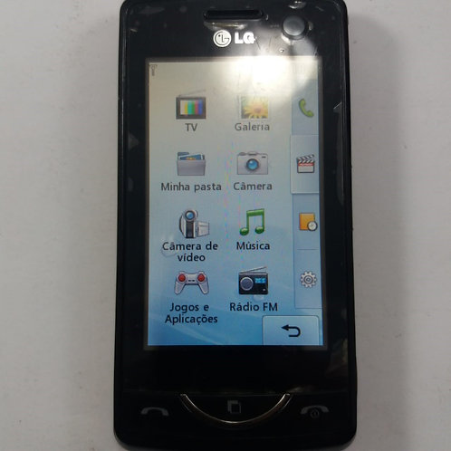 Celular LG Scarlet Kb775f Tv Digital