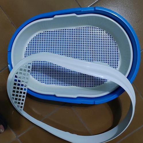 Banheira Higiênica Para Pets Furacão Pet Furba Azul