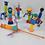 Thumbnail: Coleção Robits Robôs Letronix Revista Recreio 07 Pçs