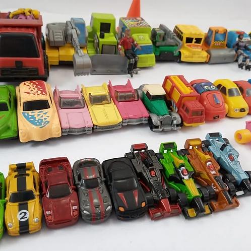 Carrinhos Miniatura De Ferro E De Plástico 42 Pçs