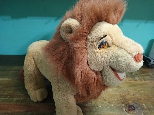 Leão Simba De Pelúcia Grande Rei Leão 50cm Altura