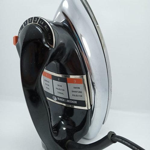 Ferro de Passar A Seco Black E Decker 110v Inox