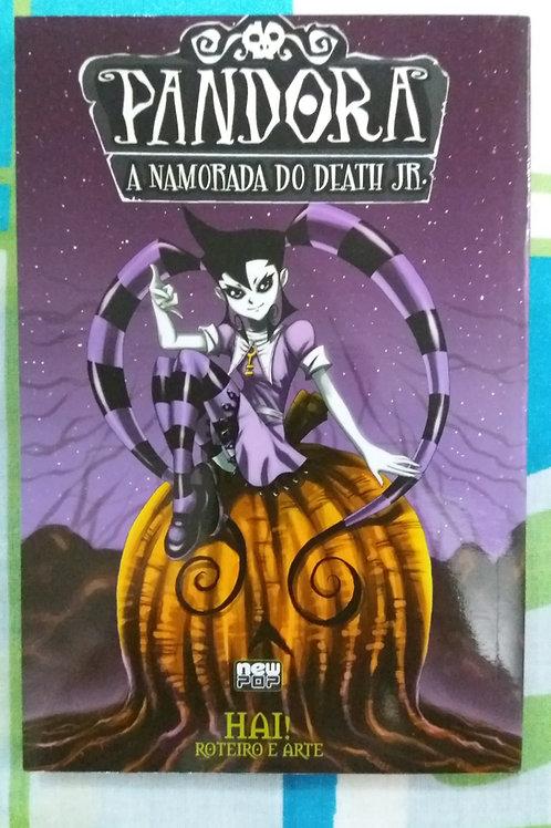Livro Mangá Pandora A Namorada Do Death Jr.