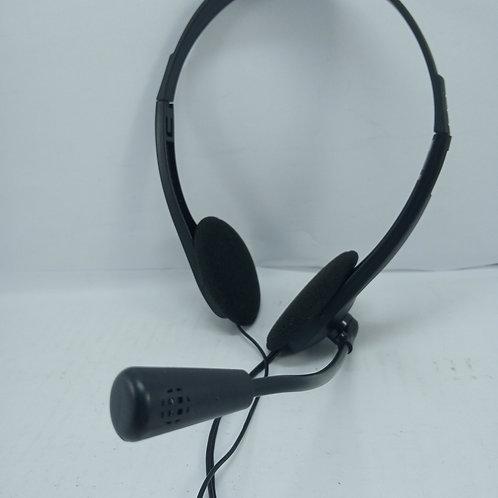 Fone De Ouvido Headset Bright Haste Regulável E Microfone