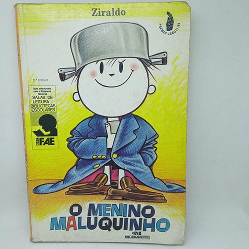 Livro O Menino Maluquinho Ziraldo