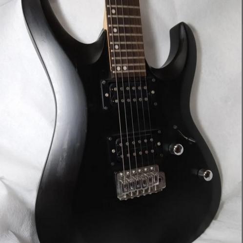 Guitarra Xcort X1 Preta Da Indonésia C/ Bag/ Capa