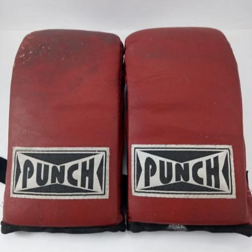 Luva De Boxe Punch Usada Ler Descrição