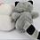Thumbnail: Guaxinim E Urso De Pelúcias Tam 17cm E 15cm