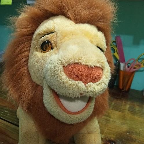 Leão Simba De Pelúcia Grande Rei Leão 50cm de Altura