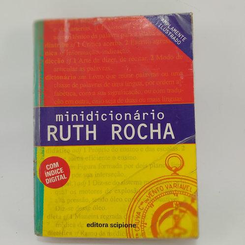 Livro Minidicionário De Português - Ruth Rocha