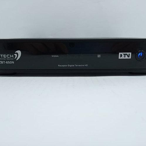 Conversor Tv Receptor Digital Hd Ekotech Zbt-650n