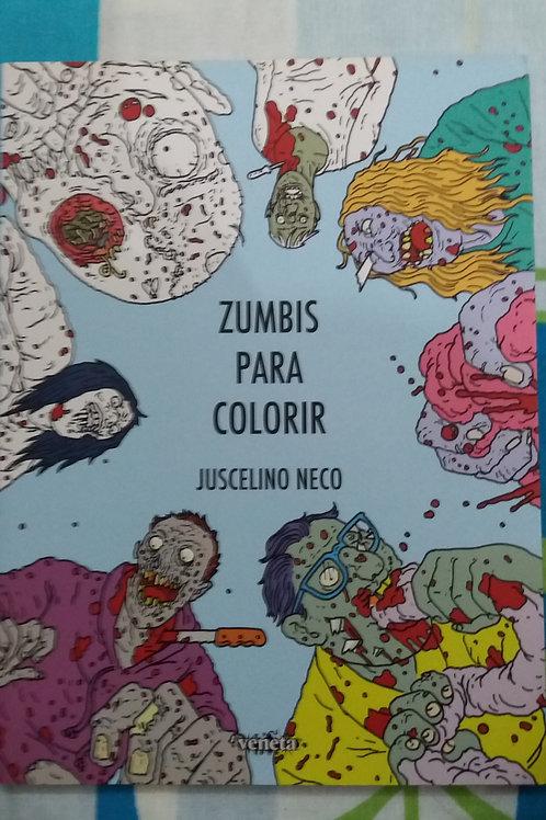 Livro Zumbis Para Colorir