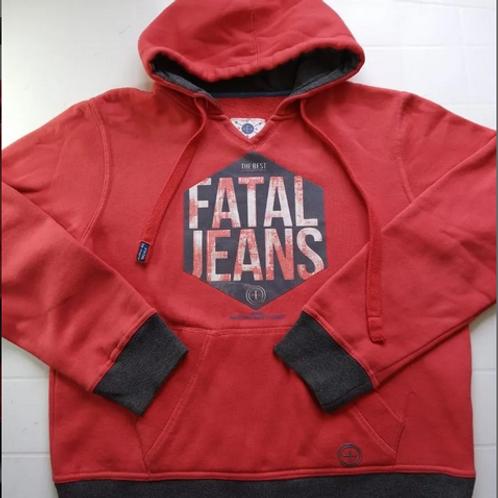 Blusa Moletom Agasalho Unissex Fatal Jeans Tam P