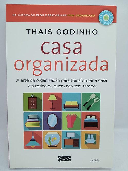 Livro Casa Organizada - Thais Godinho, A Arte Da Organização
