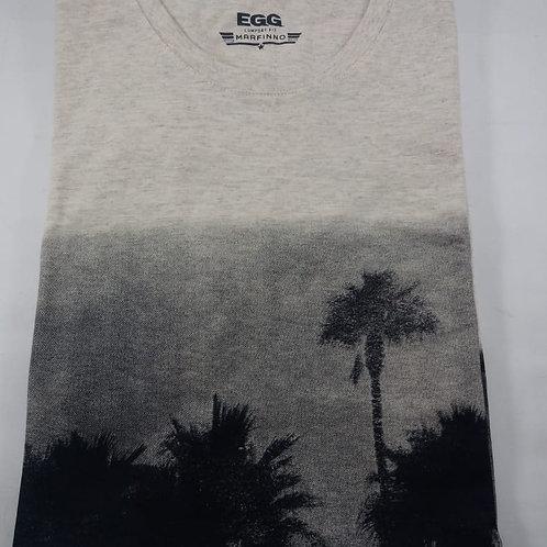 Camiseta Confort Fit Marfinno Unissex Tamanho EGG