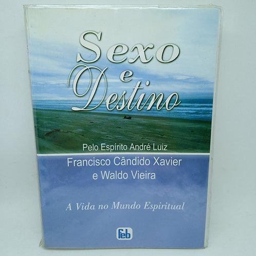 Livro Sexo E Destino. Pelo Espirito André Luiz Usado