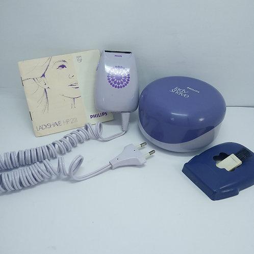 Depilador Philips Ladyshave Hp 2111 Relíquia Funcionando