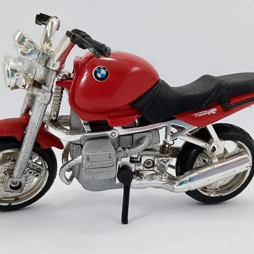 Miniatura Moto Bmw R1100r Vermelha 1:18