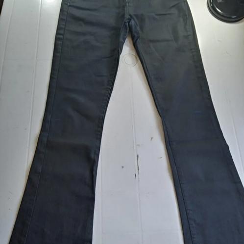 Calça Jeans Com Stretch Azul Escuro Feminina Tam 38