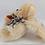 Thumbnail: Ursinho De Pelúcia Com Capuz De Orelhas E Tam. 23cm