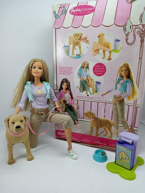 Barbie Tanner Com Cachorro Mattel Original