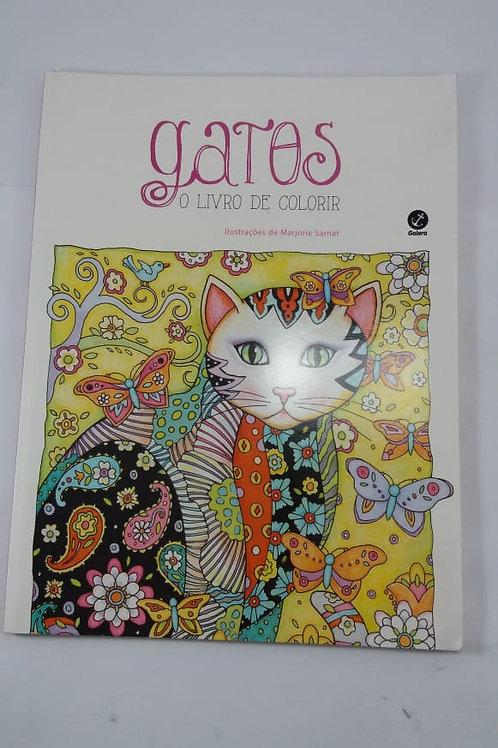 Gatos O Livro De Colorir - Marjorie Sarnat