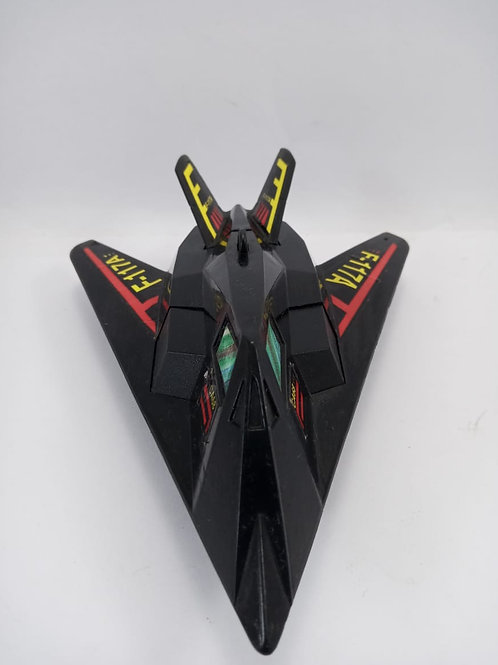 Avião Mini Caça Ca68 F-117a Preto