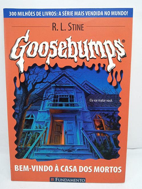 Livro Da Coleção Goosebumps 07 - Bem Vindo À Casa Dos Mortos