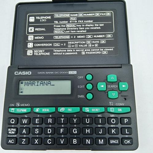 AGENDA ELETRÔNICA E CALCULADORA DATA BANK DC-2000