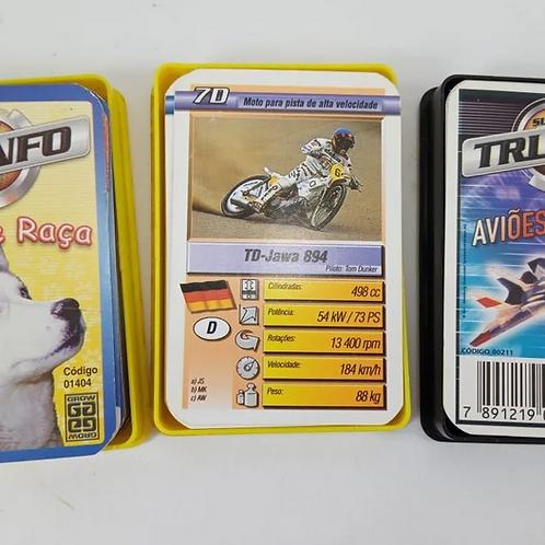 Coleção Super Triunfo Grow Com 03 Pack