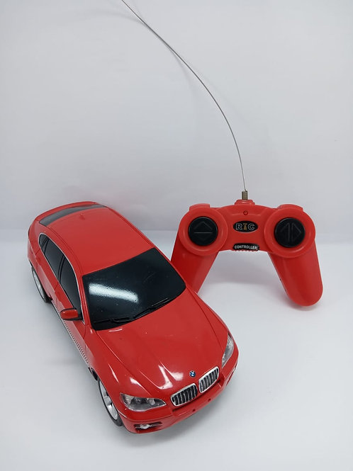 Carrinho Contole Remoto Bmw X6 Vermelho