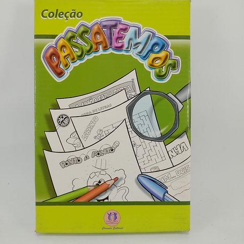 Livros Coleção Passatempos - Infanto Juvenil C/ 10 Livretos