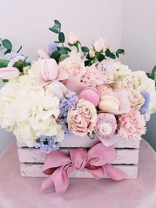 D Flower box & Sweets