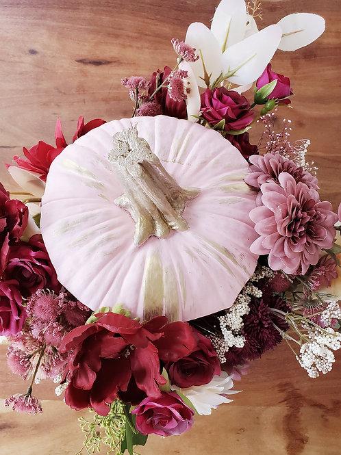 D Floral Pumpkin