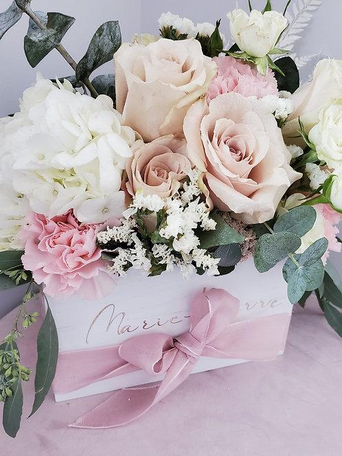 D Say my name Flower Box