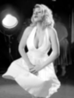 HotSpot Productions Grace Page marilyn Monroe Vegas Kings Phil Gee - Paul Martin Rock n Roll