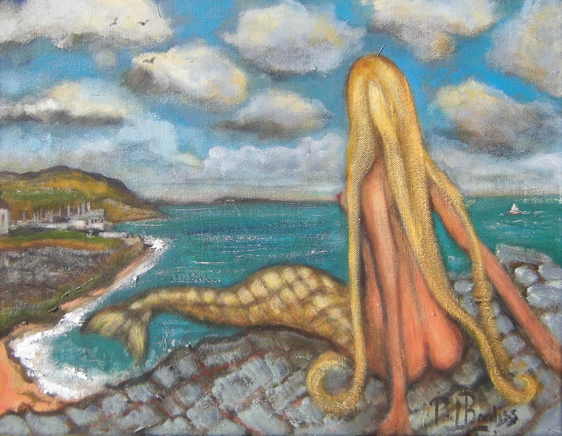 The Greystones mermaid