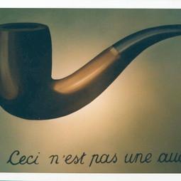 """Magritte """" Ce n'est pas une pipe """""""