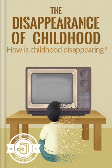 The Disappearance of Childhood.jpg