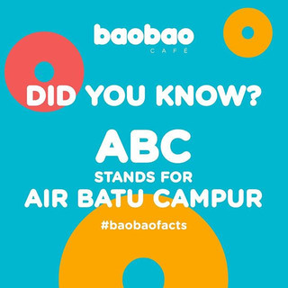 Did you know ABC stands for Air Batu Cam