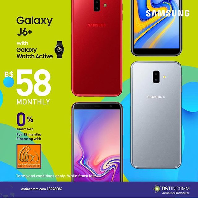 The Galaxy J6+ 64GB is the perfect phone