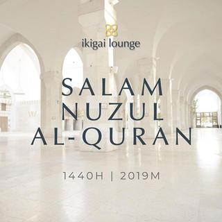 Selamat menyambut Hari Nuzul Al-Quran fr