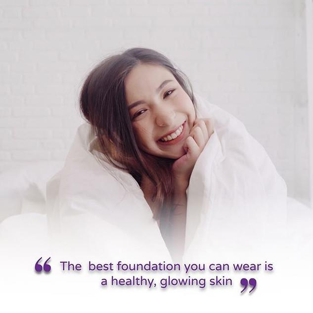 … #healthyskin #glowingskin #monthlyquot